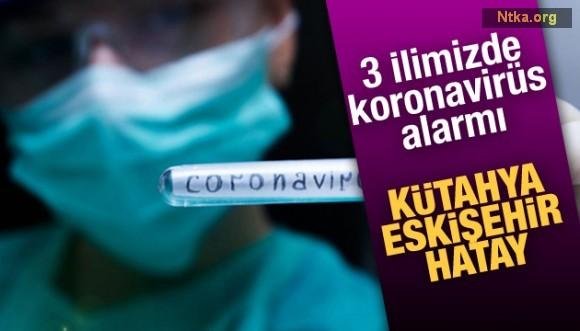 Kütahya, Eskişehir ve Hatay'da koronavirüs şüphesi