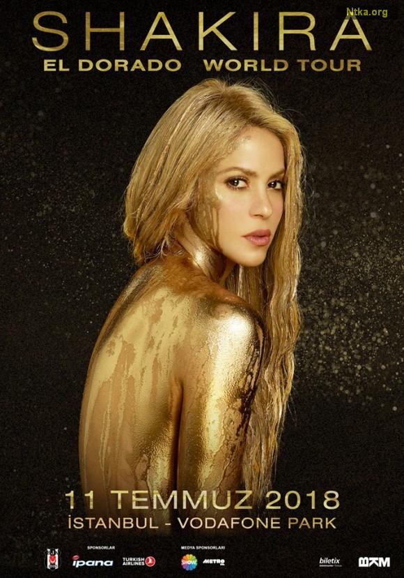 Shakira, İstanbul'a Geliyor!