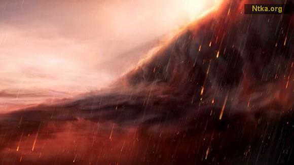 O gezegende gökten sıvı demir yağıyor!