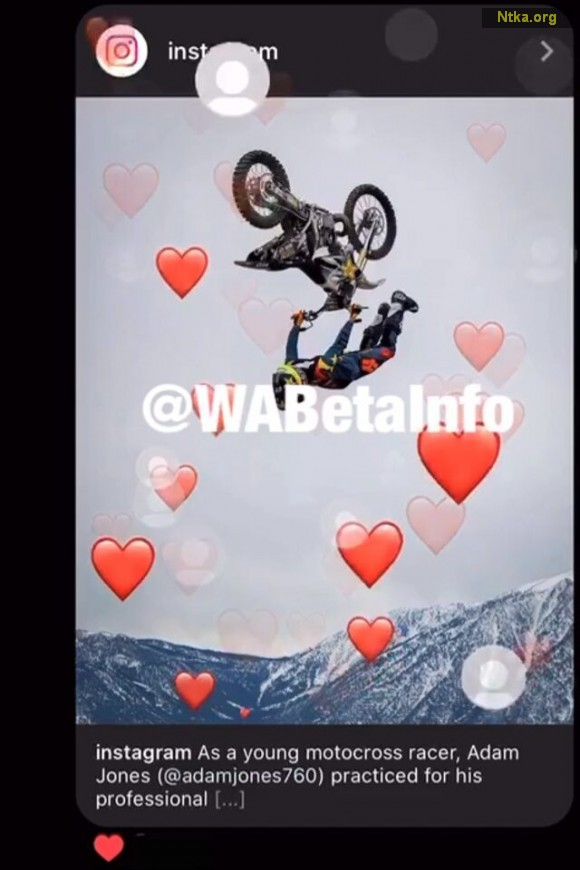 instagram Sevgi Animasyonu