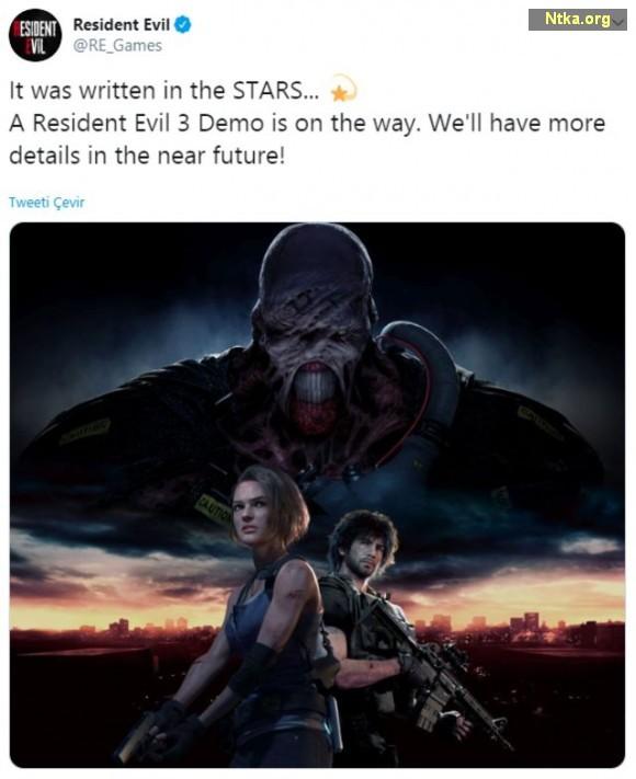 Resident Evil 3 Twitter