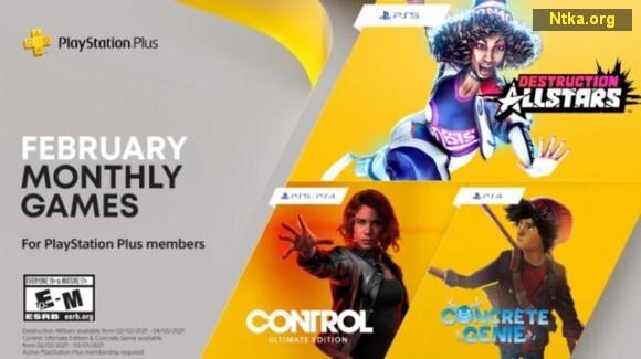 PlayStation Plus Şubat 2021 oyunları