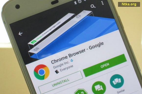 Hızlı yanıt Google Chrome için yolda