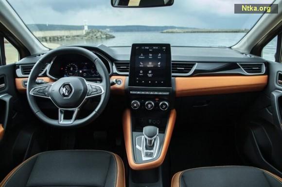 Renault Captur iç tasarımı